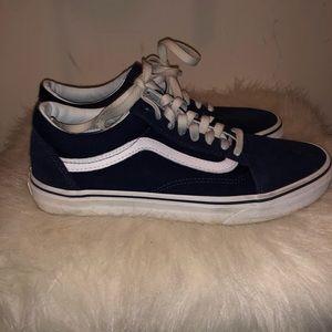 Navy blue Vans